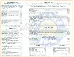 Cottage Inn Menu by Orange Inn Menu Laguna Beach Dineries