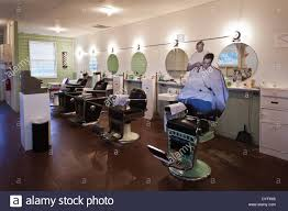 usa arkansas barling fort chaffee barbershop museum site of