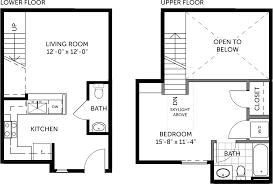 House Plans Com 120 187 by Metal Building 1 Bedroom Miller Lofts At Plant Zero
