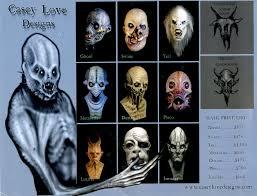 2009 casey love catalog blood curdling blog of monster masks