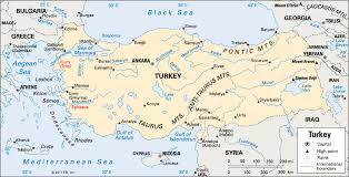 Location Of The Ottoman Empire by Turkey Students Kids Britannica Com