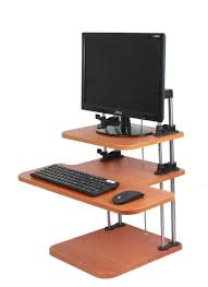 Ideal Height For Standing Desk Table Gorgeous Adjustable Height Computer Desk Ideal With Drawers