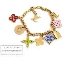 luxury charm bracelet images Authentic louis vuitton charm bracelet new JPG