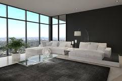 Loft Interior Contemporary Living Room Loft Interior Stock Photography Image