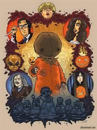 collection of 25 chris trick or treat small horror design