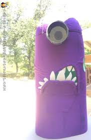 purple minion costume cool handmade evil purple minion costume for