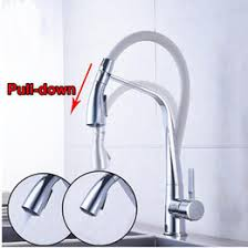 discount white kitchen faucets pull down 2017 white kitchen