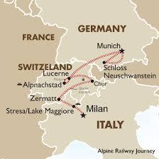 Alpine Railway Journey Switzerland Tours