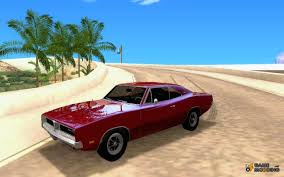 dodge charger stock charger r t stock 1969 for gta san andreas