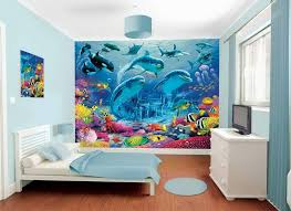 Wall Murals Bedroom by Girls Bedroom Dolphin Wall Mural Under The Sea Pinterest