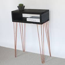 hairpin leg console table taylor hairpin leg console table eco furniture reclaimed wood
