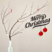 christmas wall decor diy christmas wall sticker decoration quecasita
