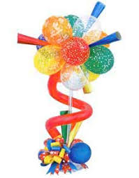 Balloons On Sticks Centerpiece by Balloons Decorations