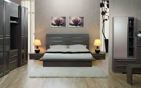 bedroom ideas for guys with elegant gray wooden master bed and