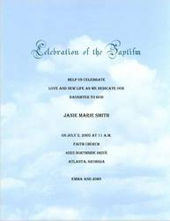 baptism christening invitations templates clip art and wording
