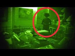 ghost hiding in basement caught on video scary youtube