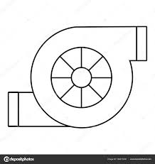 air filter car icon outline style u2014 stock vector ylivdesign