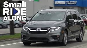 honda odyssey test drive 2018 honda odyssey ex l review and test drive smail ride along