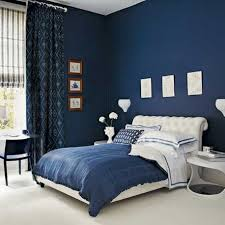 foxy blue and black bedroom design and decoration using blue navy