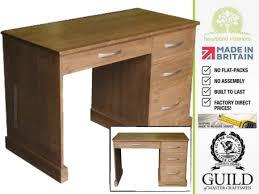 Solid Wood Desk 100 Solid Wood Writing Desk Furniture Solid Wood Computer