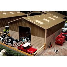 wood lego house brushwood 1 32 basics wood cow house barn one32 farm toys and models