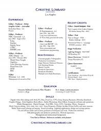 Photography Resumes Astounding Videographer Resume 13 Freelance Photographer Resume