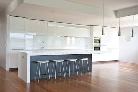 Modern Kitchen Island Bench Amazing Kitchen Finished In Gloss White Grey Abet Laminati