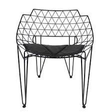 modern eames black metal wire mesh lounge chairs