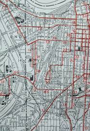 Chicago City Limits Map by Old Maps American Cities In Decades Past Warning Large Images