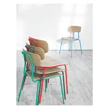 Uk Dining Chairs Hester Blue Stackable Dining Chair Buy Now At Habitat Uk
