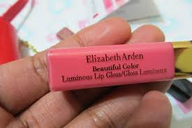 Brighter Pink Doll Up With Elizabeth Arden U0027s Luminous Lip Gloss Collection