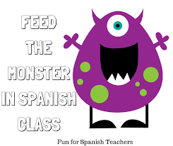 How To Say Thanksgiving In Spanish Feed The Monster In Spanish Class Png