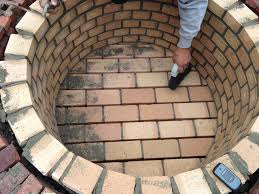 How To Make A Fire Pit With Bricks - columbia sc fire pit builder custom decks porches patios