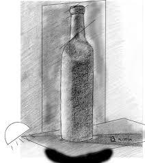 study wine bottle a4 paper hb u0026 4b pencil archive wetcanvas