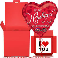 balloon in a box delivery husband balloon in a box gift free 1st class delivery
