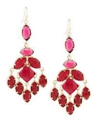 Nakamol Czech Crystal Beaded Chandelier Jose U0026 Maria Barrera Crystal Teardrop Chandelier Earrings Last