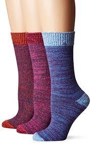 womens size 12 boot socks muk luks womens 3 pair pack microfiber boots socks multi osfm