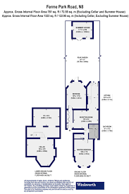 floor plan area calculator 2 bedroom property for sale in ferme park road london n8 695 000