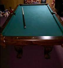 non slate pool table 8ft eastpoint pool table non slate excellent condition ebay