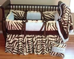 Cheetah Print Crib Bedding Set Cheetah Print Crib Bedding Sets Chocolate And Zebra Boy Baby
