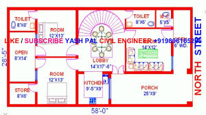 Vastu Floor Plans North Facing 100 North Facing House Vastu House Plan Proposed Plan In A 40