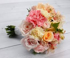 wedding flowers nz mixed pastel flowers wedding bouquet package wedding flowers