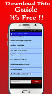 download youtube red apk guide for youtube red apk download free books reference app for