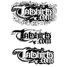 tatshirts website apparel design vector logo fonts lettering