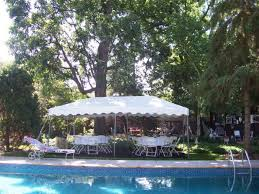 tent for party pool party tent rental 10 x 20 frame tent for party in lincoln ne