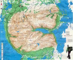 True Map Of The World Tourist Maps Of The Khibiny And Lovozero Massifs 1999 2005