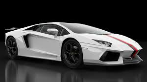lamborghini sport lamborghini aventador as top sports car driving in line
