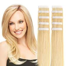 glue extensions 14 in hair extensions remy human hair seamless glue in