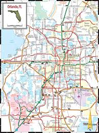 Florida Toll Road Map by Orlando Map Orlando On Map Florida Usa