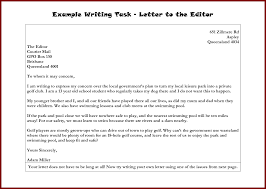 how to write a letter to a editor letter idea 2018